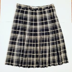 🌞5/$25 JH Collectibles Black White Plaid Skirt